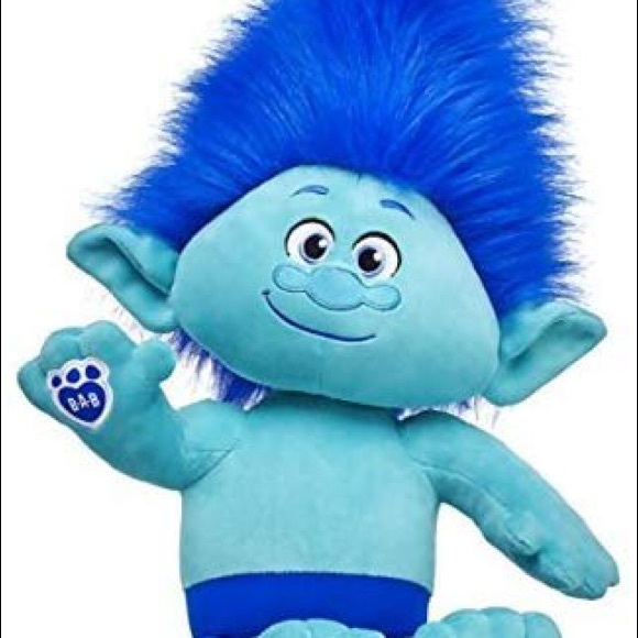 NEW Build A Bear Clothes DreamWorks Trolls Branch 2 piece Costume NWT